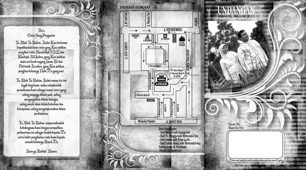desain terbaru 'undangan pernikahan' dari faluziaproject [satu ...